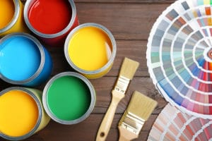 Paint and color selections
