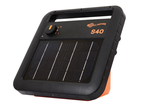 Gallagher S40 electric fence charger