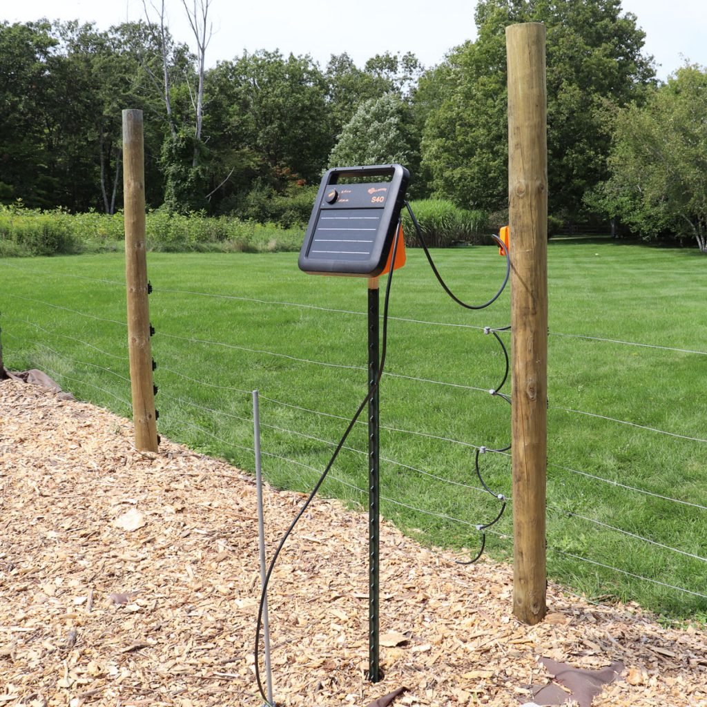 Solar charger in apiary