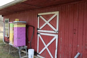Is beekeeping agriculture? Our barn and hive boxes. Is beekeeping agriculture?